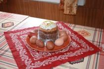 Освещение куличей и яиц